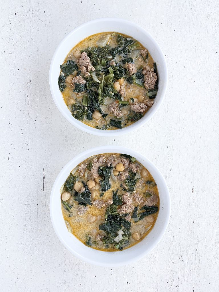 kale and italian sausage soup