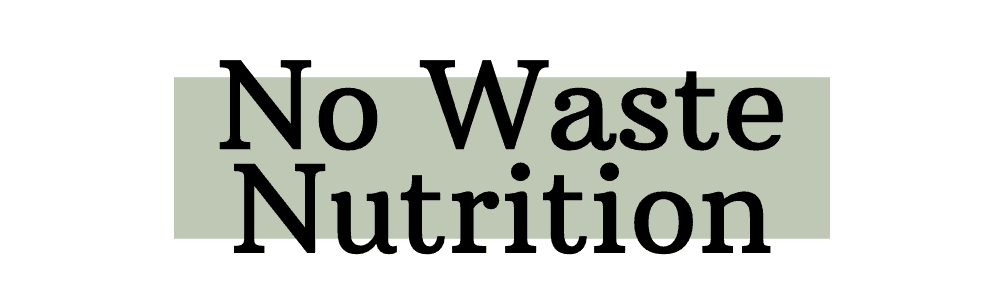 No Waste Nutrition