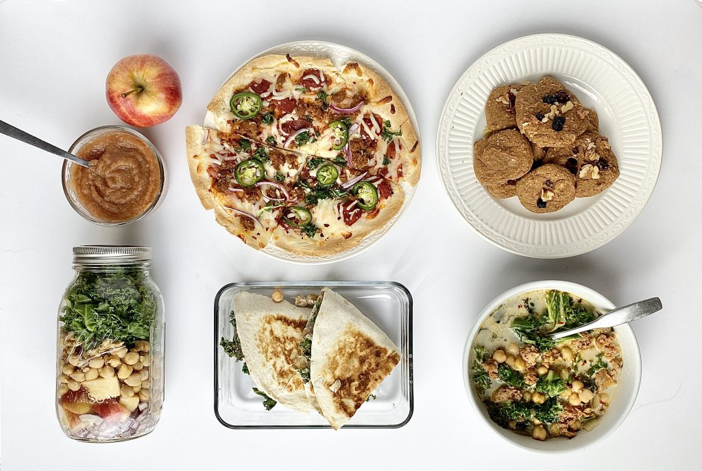 fall and winter 5x5 meal plan